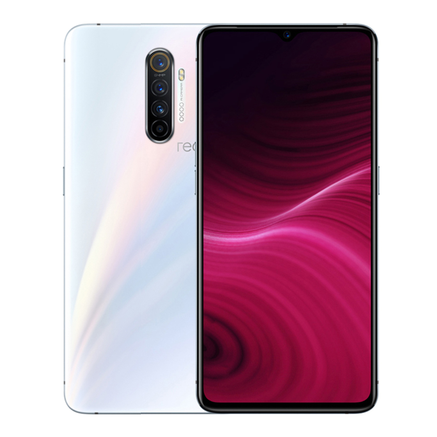 Realme X2 Pro 8+128GB Mobile Phone 6.5'' Full Screen Snapdragon 855 Plus 64MP Quad Camera NFC Cellphone VOOC 50W Super Charger white_8+128