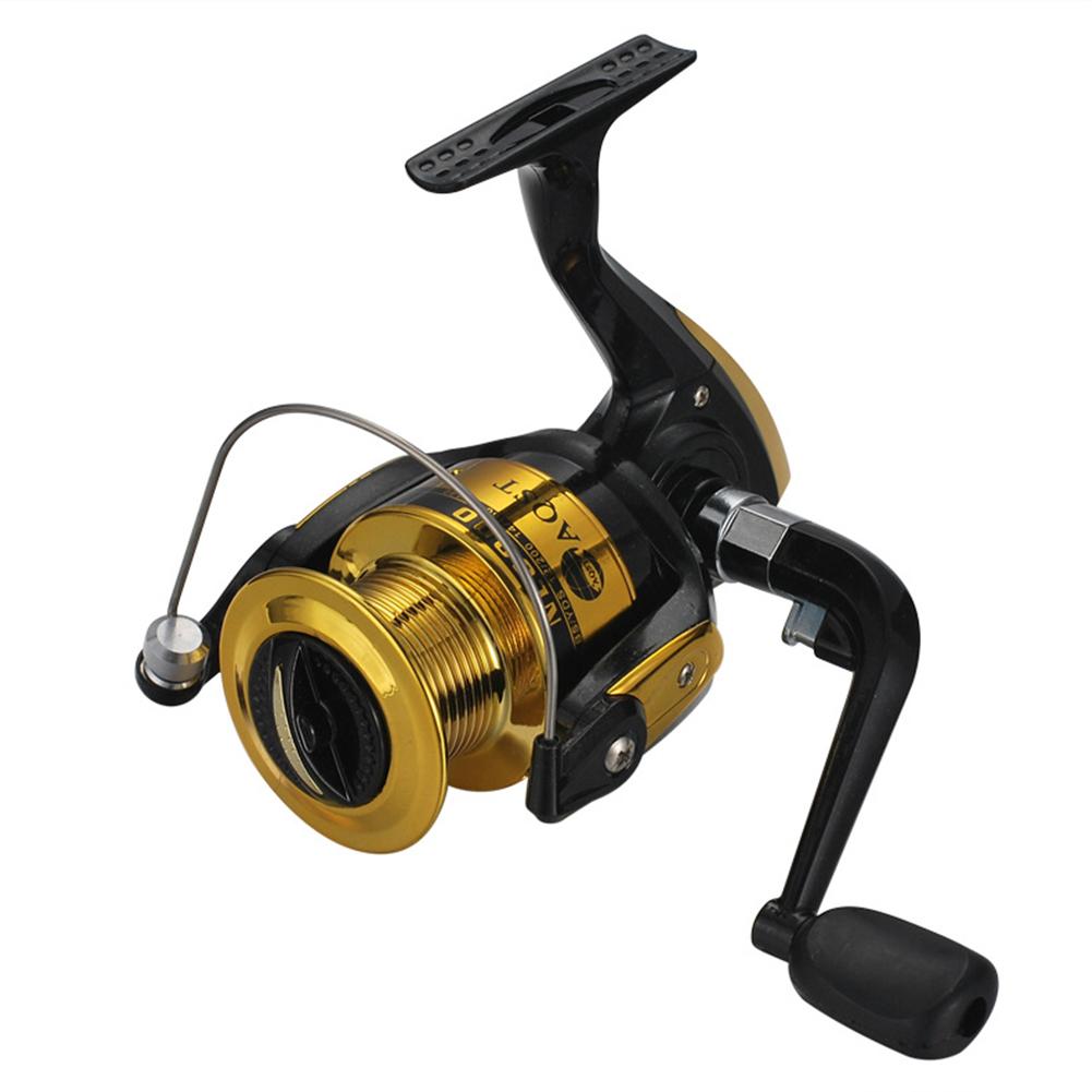 Black Gold NL1000-6000 Fishing Wheel Sea Fishing Reel Plastic Wire Cup  Model 4000 Black Gold