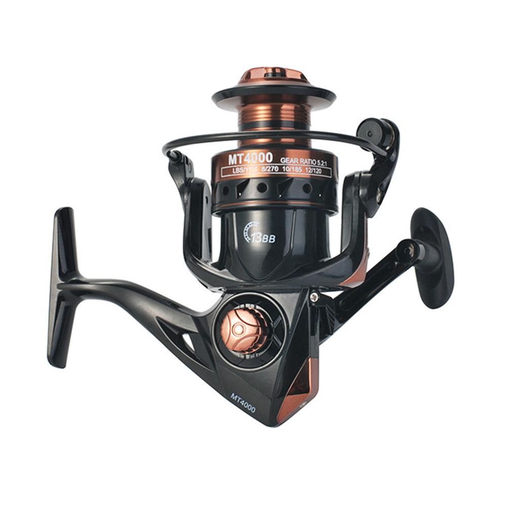 Fishing Reel 5.2:1 4.7:1 High Speed 13BB full Metal Spool Spinning Reel Saltwater Reel carp Fishing Reel MT6000