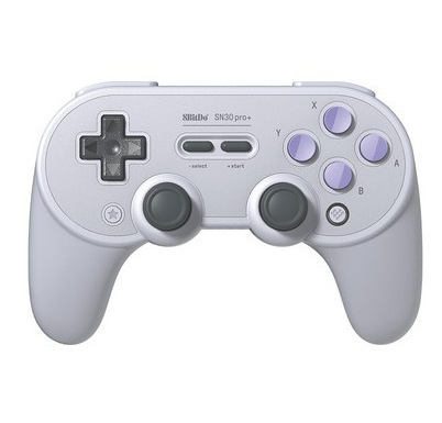 Bluetooth Gamepad Controller with Joystick for Windows Android macOS Video Games Supplies Dark Gray SN Edition