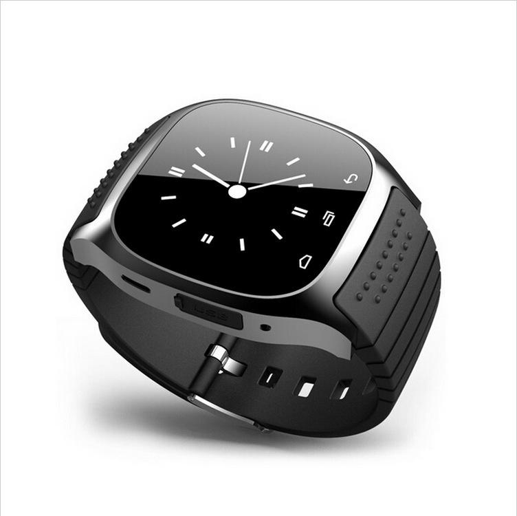 M26 1.5 inch Screen Step Count Smart Bluetooth Watch Wristwatch blue