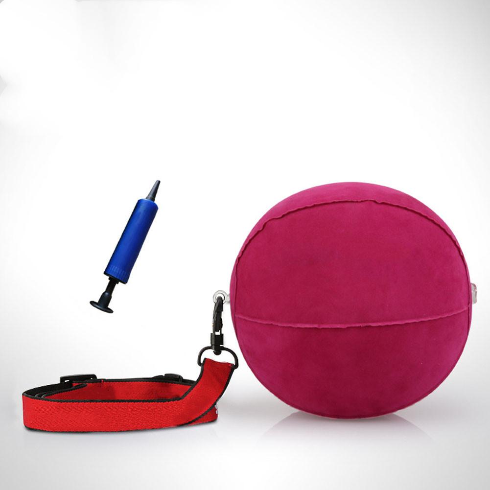 Golf Ball Swing Machine Arm Correction Practice Machine Punm with Random Color Pump color random_Red