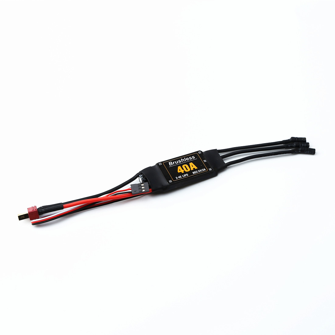 40A Speed Controller Brushless ESC Drone Helicopter FPV Parts Multicopters Durable Components RC Toys Quadcopter Accessories as shown