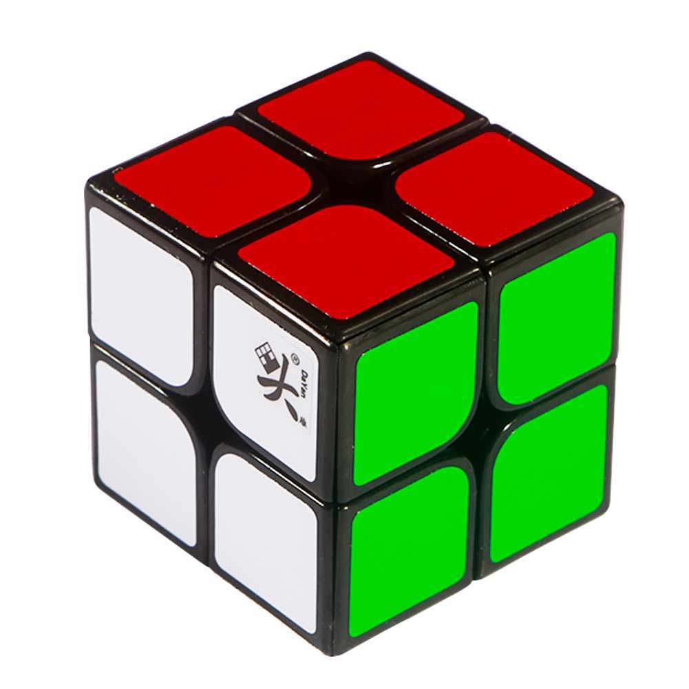 [US Direct] DaYan 2x2x2 I - Black Body for Speed Cubing (50x50mm) (difficulty 8 of 10)