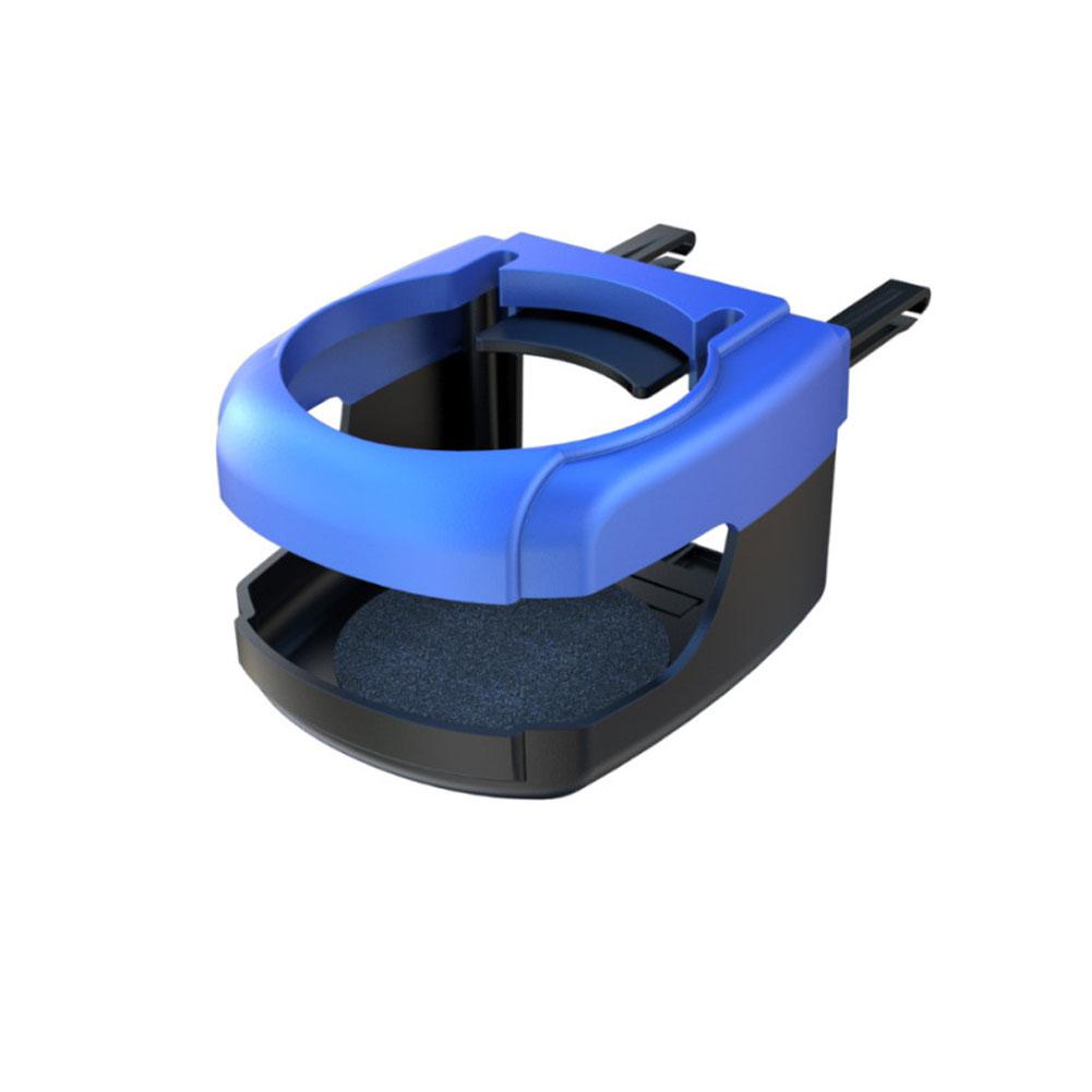 Car Cup Holder Outlet Air Vent Cup Rack Beverage Mount Insert Stand Holder Blue