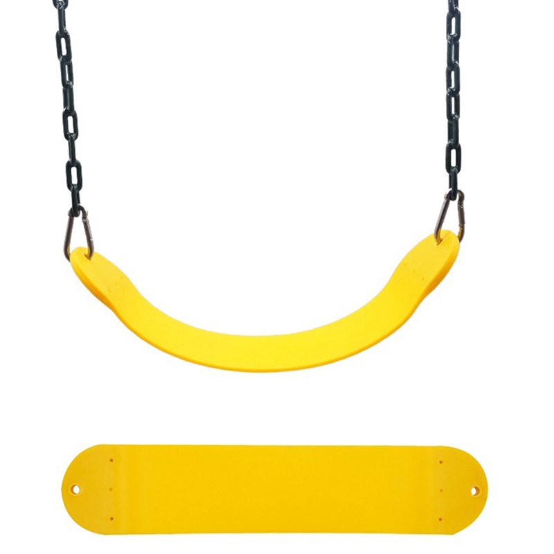 25.59*5.51Inch Swing Seat for Kindergarten Kids, Heavy Duty 300KG/661LB Weight Limit Outdoor Playground Swing Accessories yellow