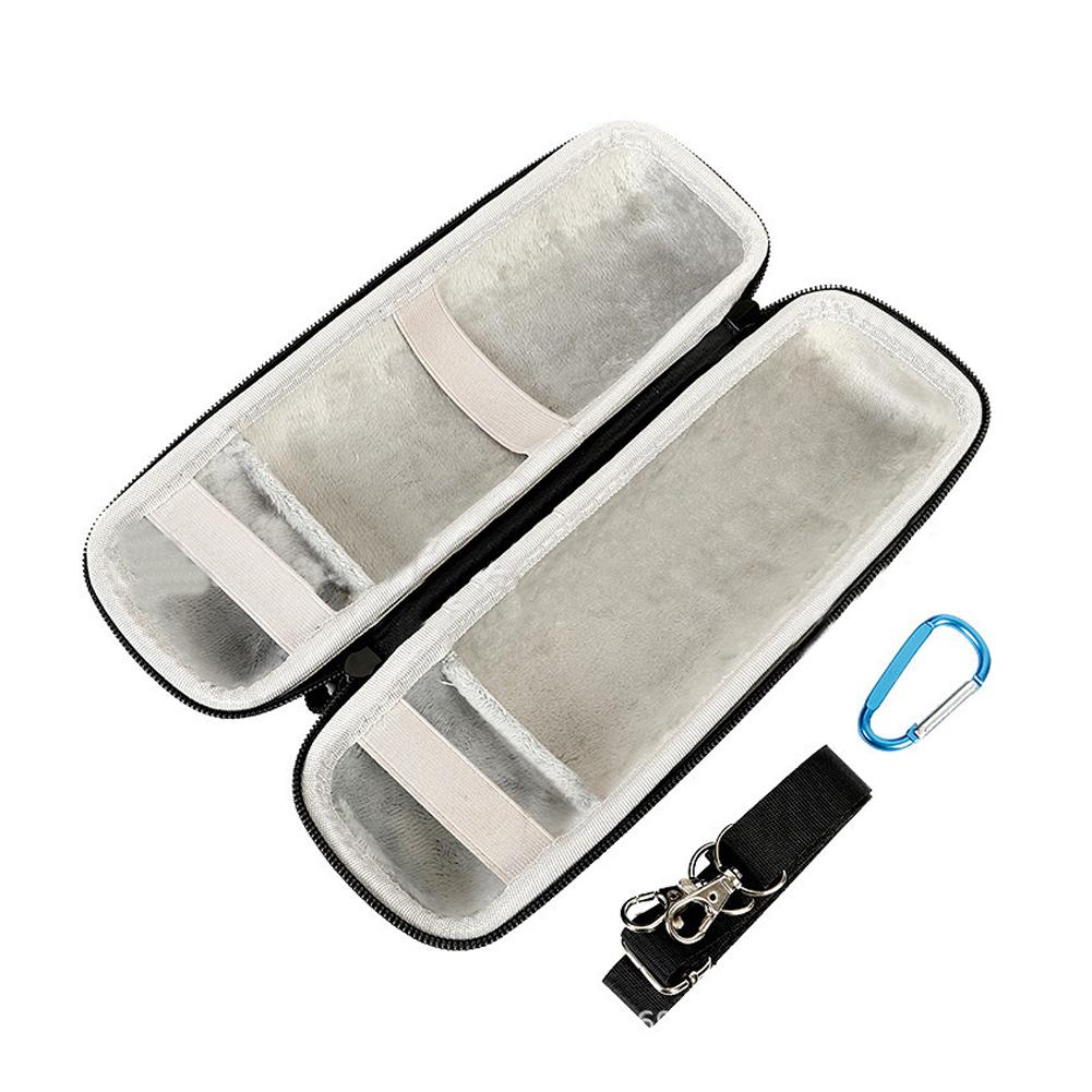 Storage Bag Shoulder Bag for JBL Flip 5 Bluetooth Speaker grey lining [super soft]