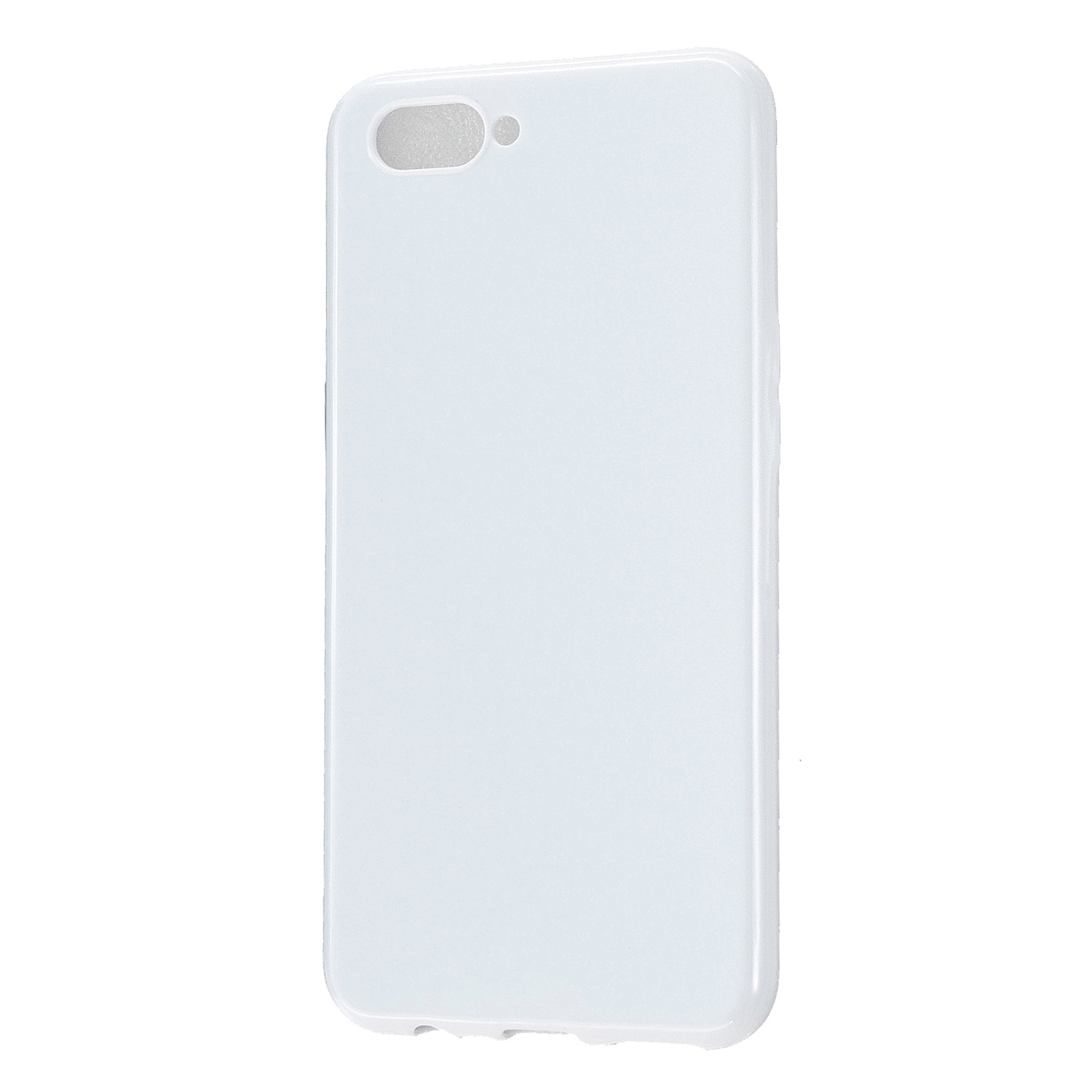 For OPPO A5/A3S/A9 2020 Cellphone Cover Soft Touch Anti-scratch Shockproof TPU Mobile Phone Case  Milk white