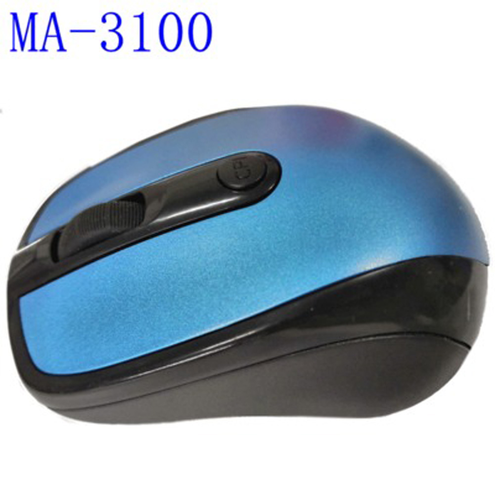2.4GHz Wireless Optical Mouse Mice & USB Receiver for PC Laptop Computer  blue