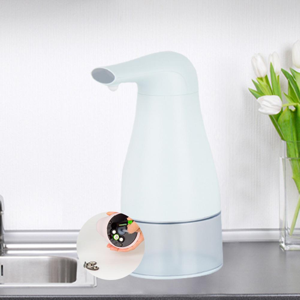 Automatic Foam Soap Dispenser Touchless Hand Infrared Auto Sensor Soap Pump for Kitchen Children Light blue