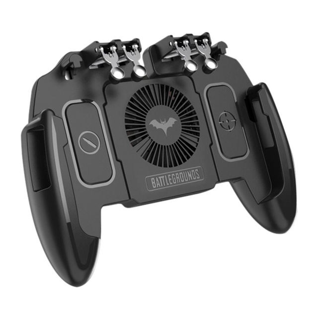 M10 Six Finger Mobile Gamepad Game Controller for MEMO Mobile Phone Game Joystick with Heat Dissipation Function