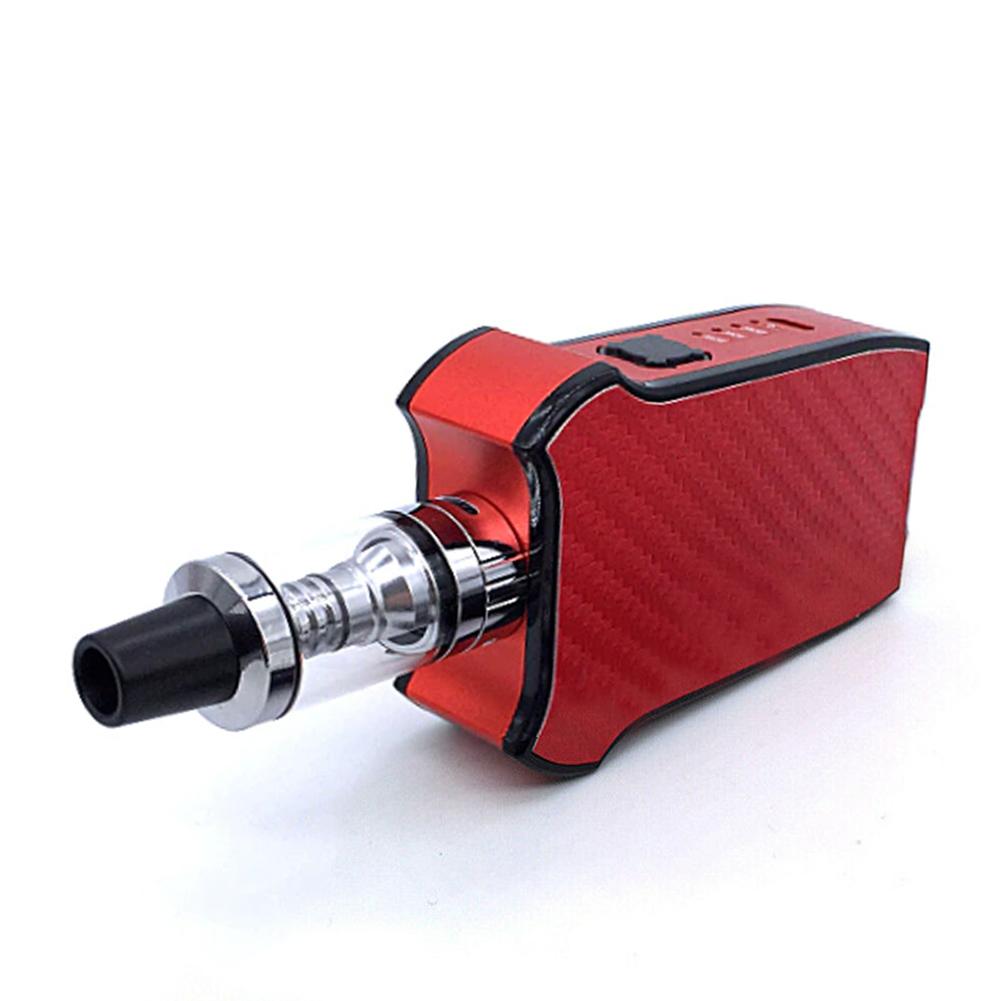 80W Electronic Vape Vaporing Tube 2200MAH Kit Mech Box Smoke Safe red