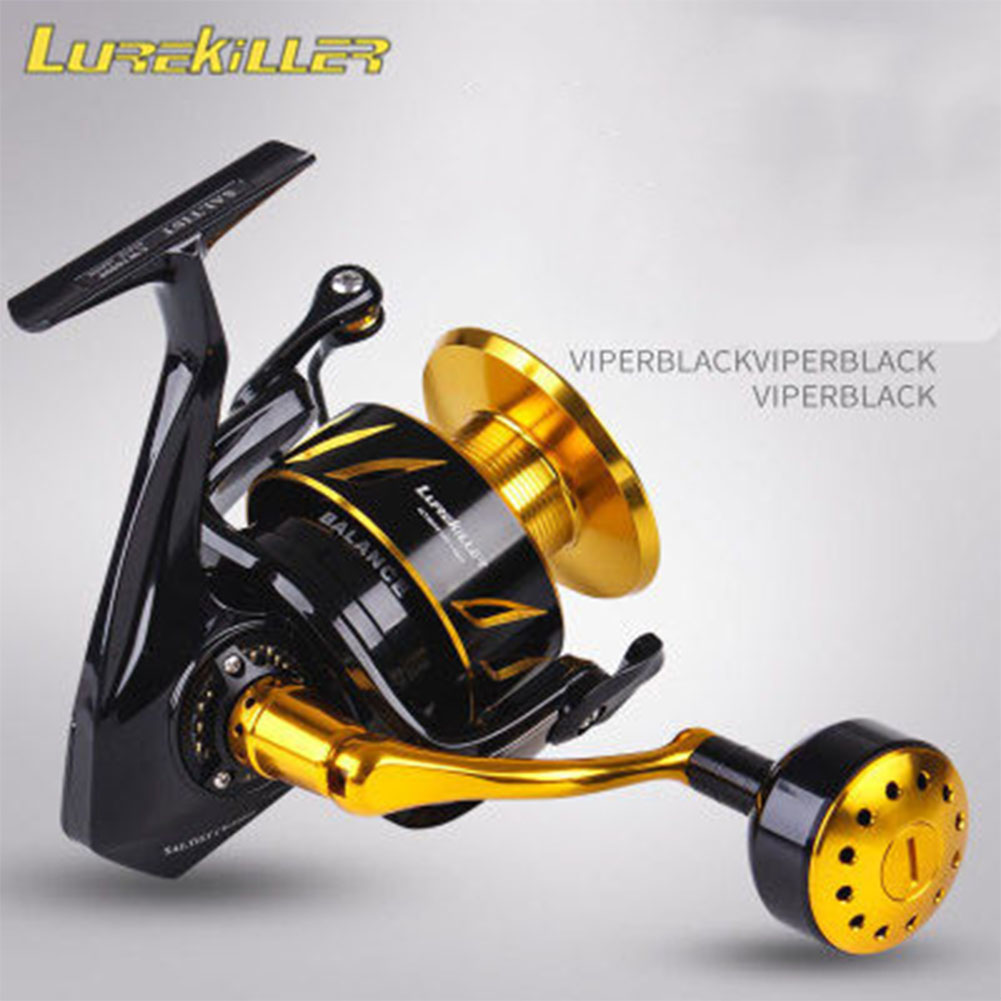 Lurekiller Saltist CW3000- CW10000 Spinning Jigging Reel Spinning Reel 10BB Alloy Reel 35kgs Drag Power CW6000