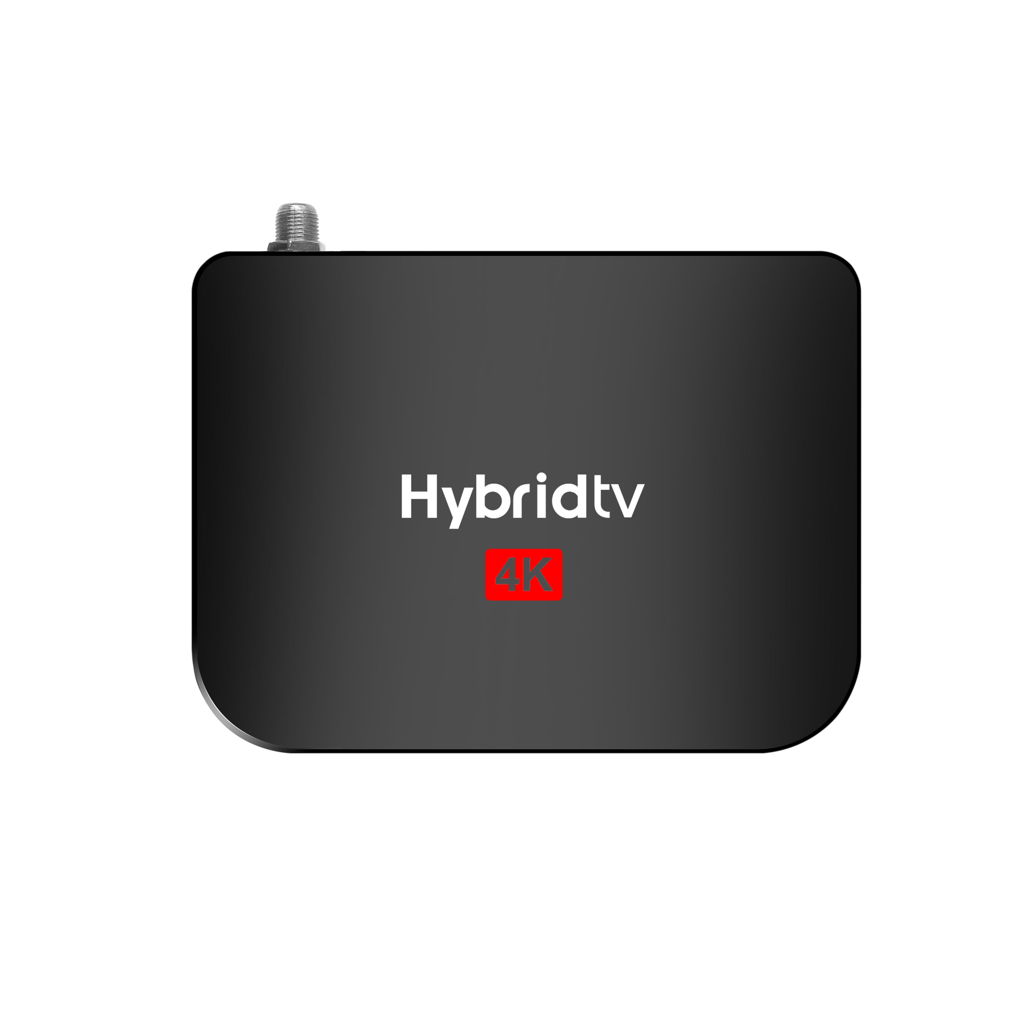 M8S PLUS S2(2+16GB) TV Box with Remote Control 2.4 WIFI for Android 9.0 black_EU Plug