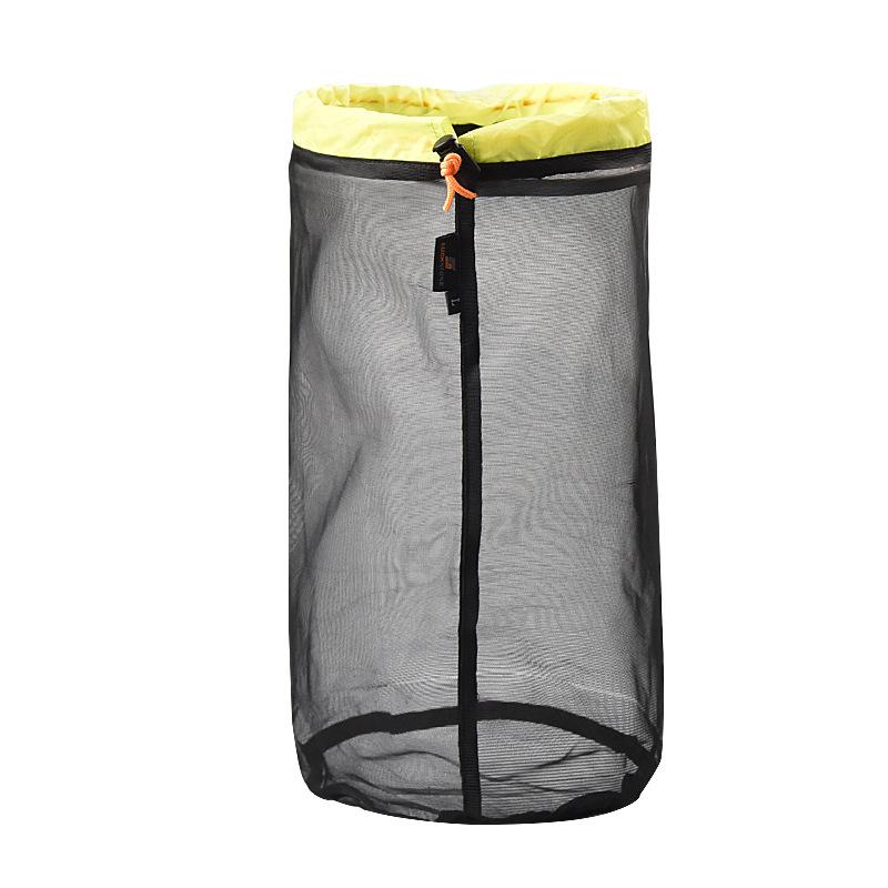 Outdoor Camping Hammock Sleeping Bag Compression Bag Waterproof Stuff Bag Hammock Storage Pouch Green black L