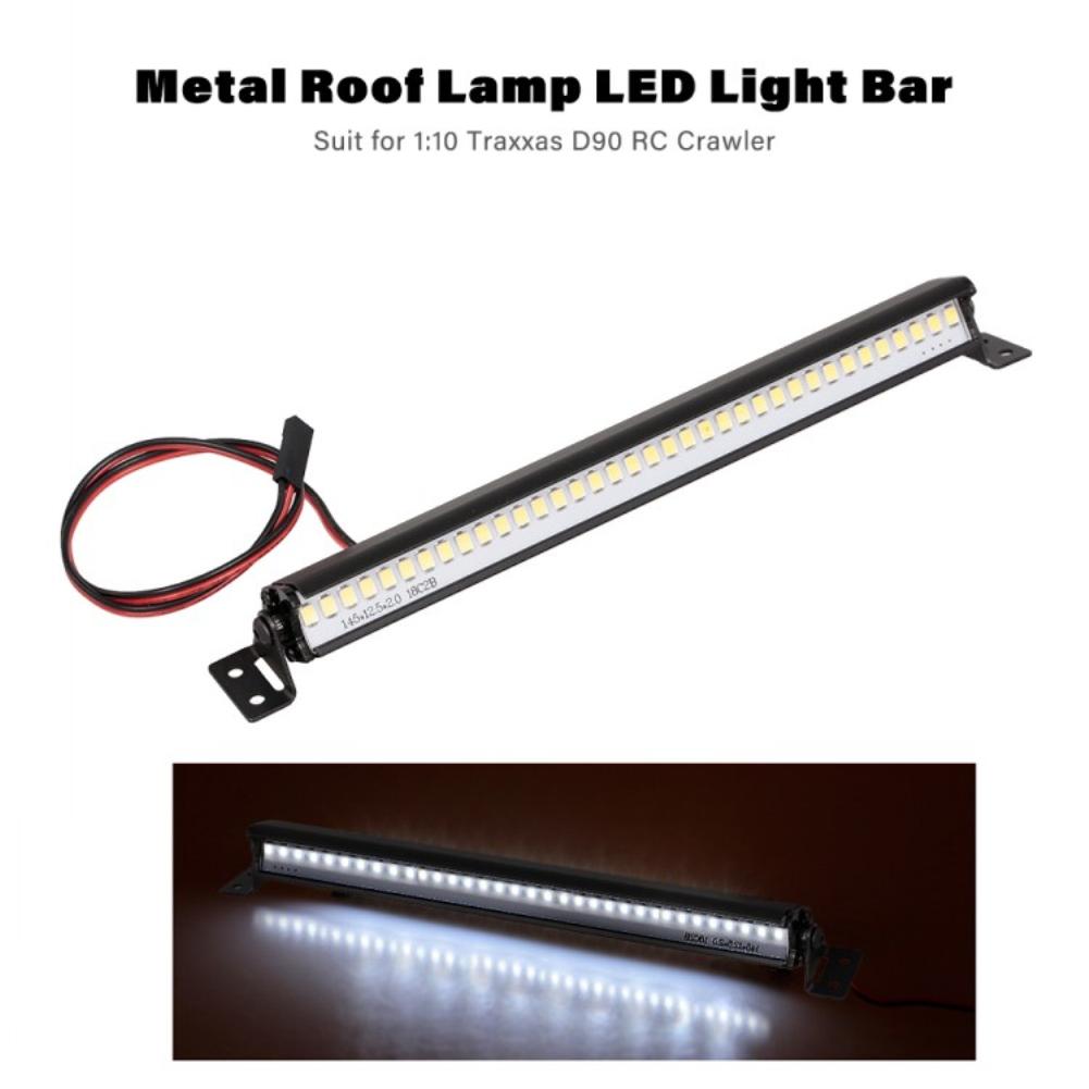 LED Light Bar Lamp for 1:10 RC Car Parts TRX4 Accessories SCX10 ii GEN8 General model