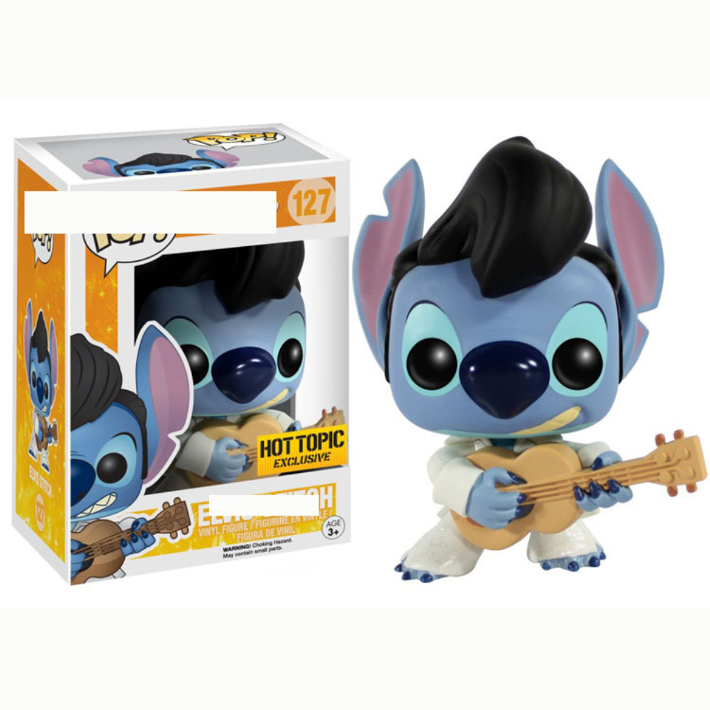 FUNKO POP Cartoon Stitch Doll Movie Figures Cute Collection Party Birthday Gift