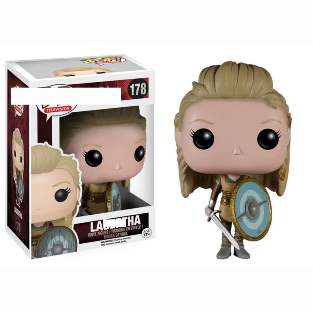 Funko POP TV Vikings Ragnar Lothbrok Action Figure Doll Toy 188#
