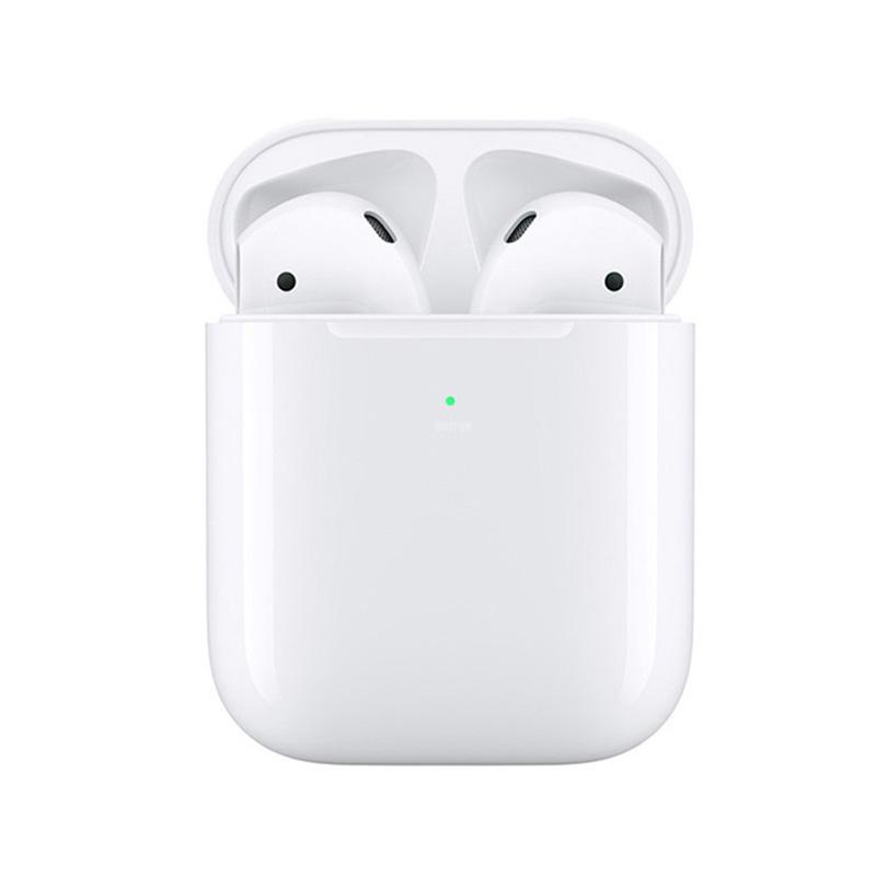 i500 TWS Wireless Earphone 5D Super Bass Wireless Charging Bluetooth 5.0 for Smartphone white