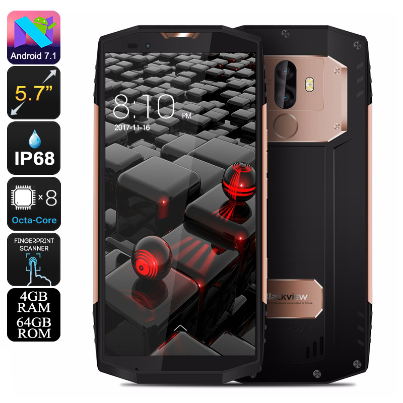 Rugged Phone Blackview BV9000 (Gold)