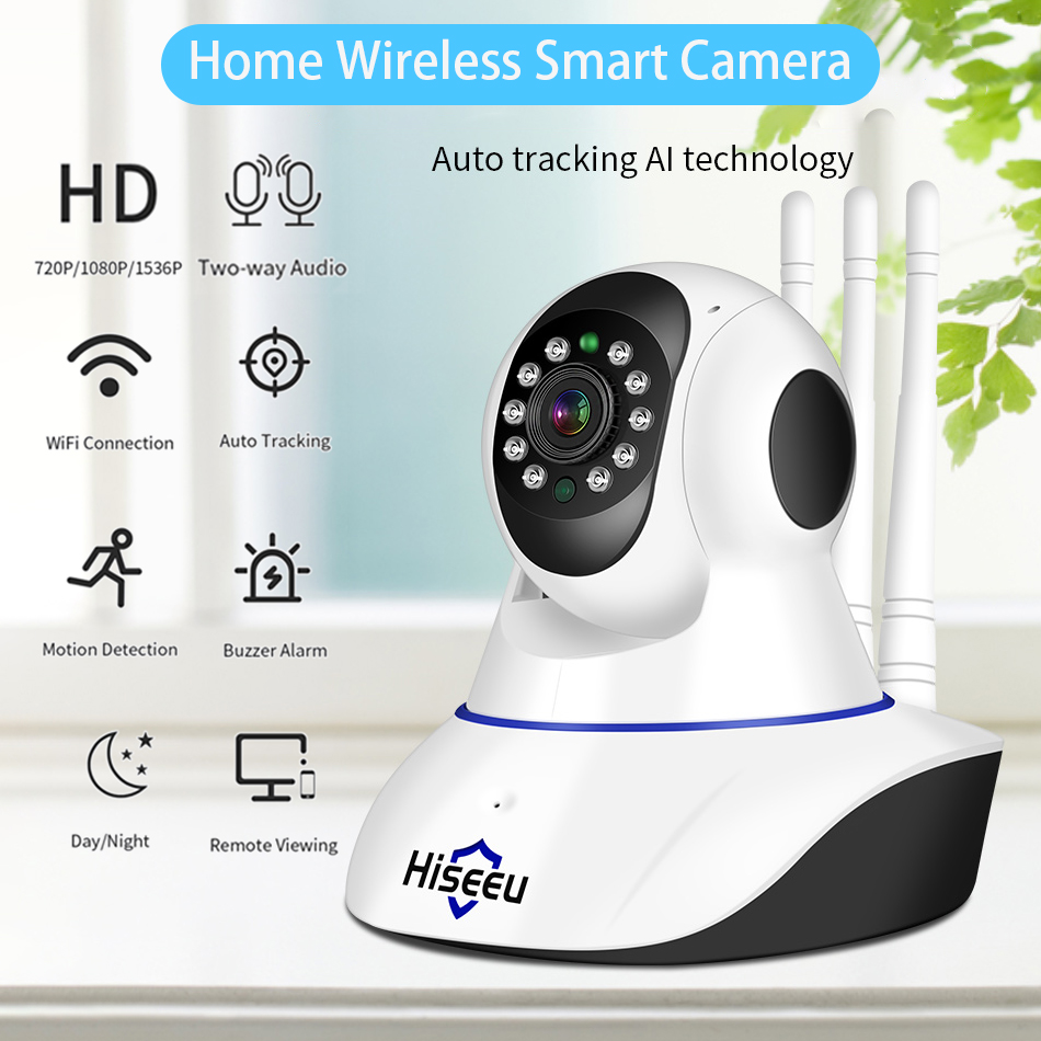 Home Security 1080P 3MP Wifi IP Camera Audio Record Memory Card Memory P2P HD CCTV Surveillance Wireless Camera U.S. regulations