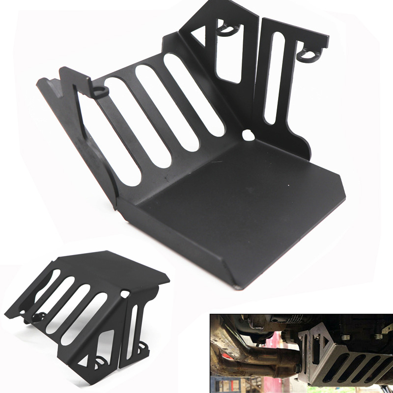 Motorcycle Engine Chassis Guard Chassis Cover Skid Plate Protector For YAMAHA MT-09 TRACER 900 FJ-09  black