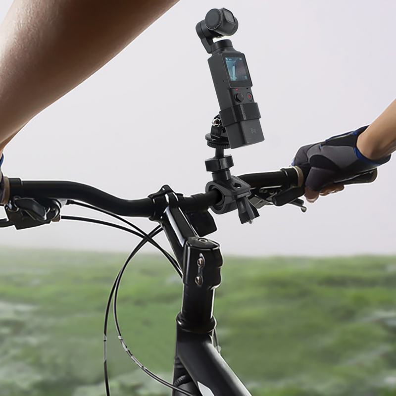 FIMI PALM Camera Bicycle Mount Bike Motorcycle Bracket Holder for FIMI PALM Action Cam Stand Frame Clip for GoPro Cam black