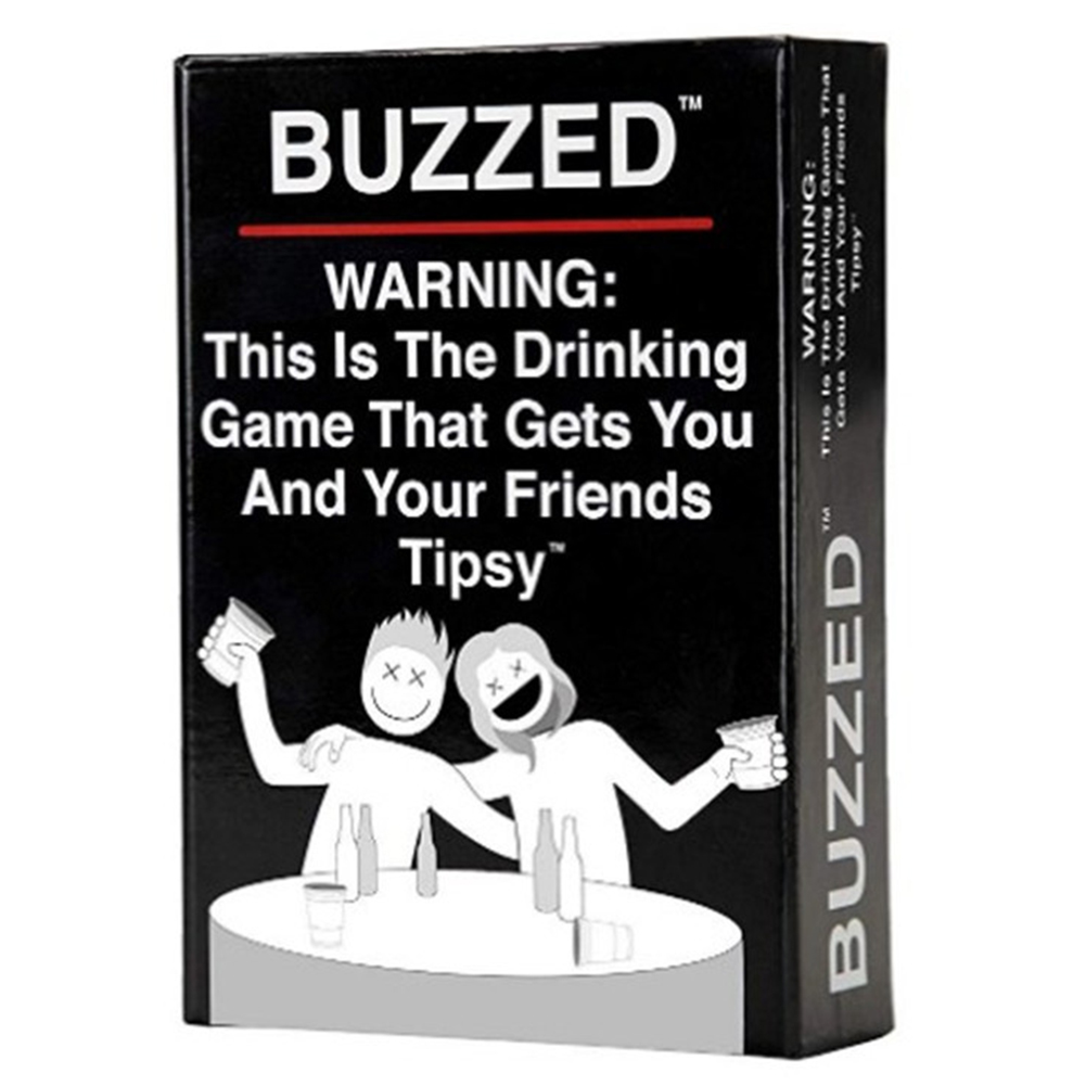 This is The Drinking Game Adult Party Game Board Card Buzzed tipsy