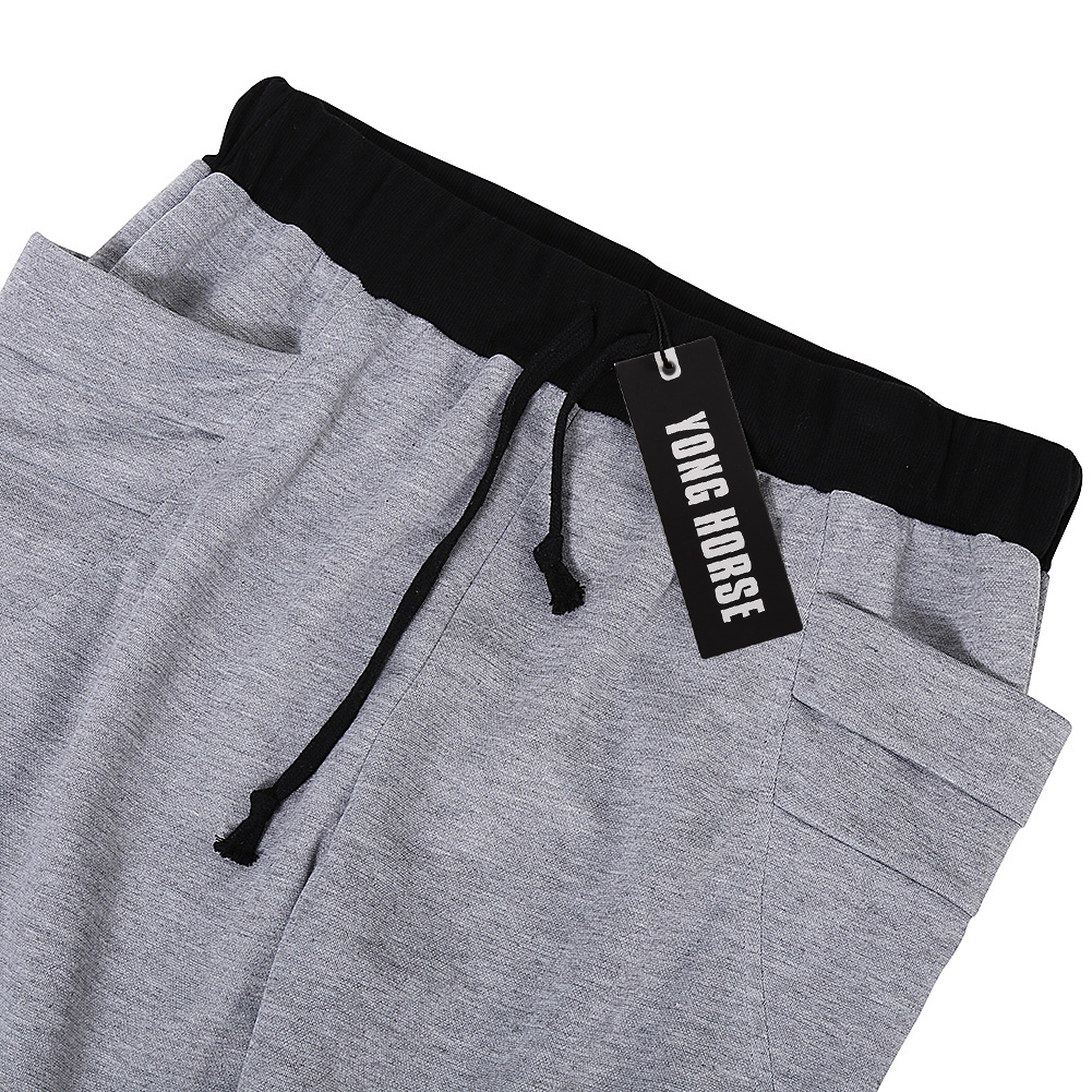 Men's Elastic Casual Pants Black