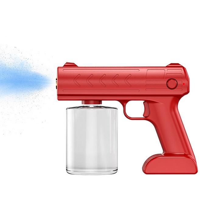 Blue Disinfection Sprayer 1200 Mah Ultra Long Jet Distance Spray Device Red