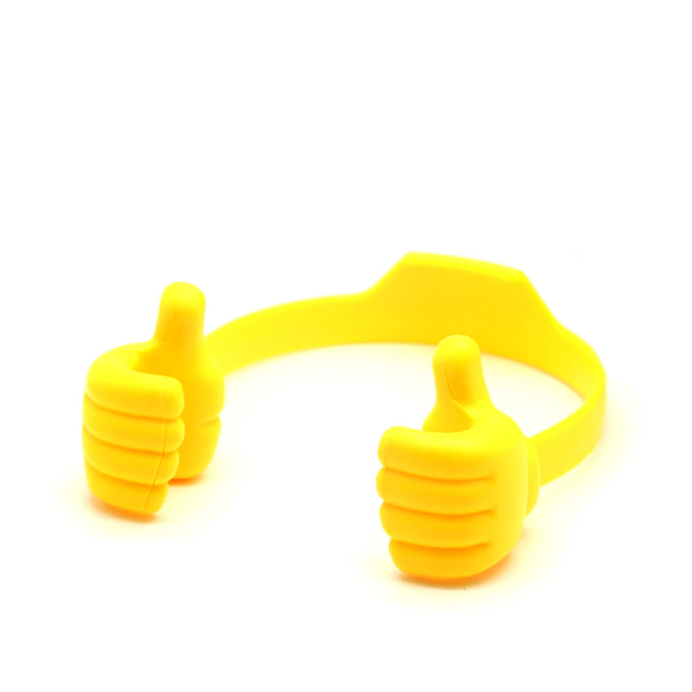 Universal Mobile Phone Holder Yellow