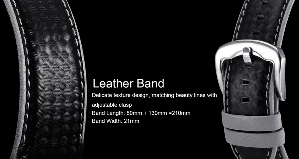 LEMFO LEM5 Smart Watch Phone-1 IMEI, 3G, WiFi, Music, Pedometer, Heart Rate, Android OS
