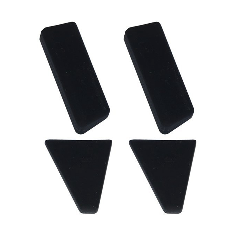 4 Pcs Landing Gear Leg Silicone Height Extender Stabilizers for RC Quadcopter Drone Black