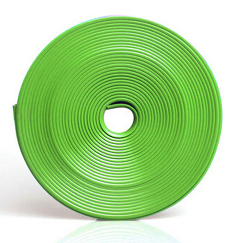 8 m Rroll Car Wheel Hub Adornment Article Protect Stickers for Universal Use green