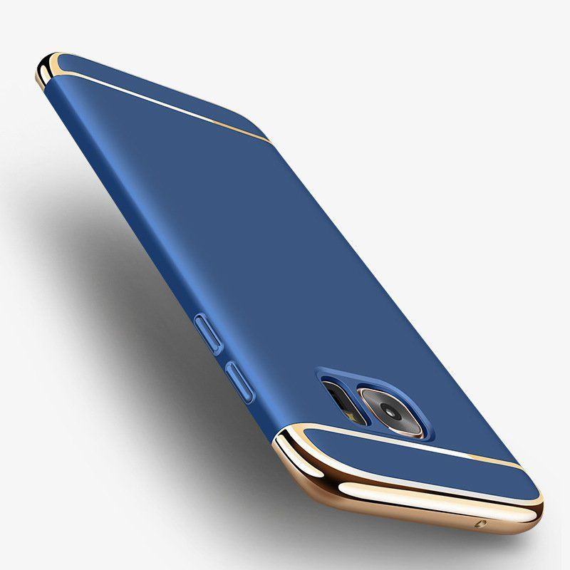 3 in 1 Fashion Ultra Slim Full Protective Cover for Samsung Galaxy S8/S8 Plus, S9/S9 Plus blue