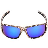 Outdoor Sport Sunglasses with Camouflage Frame Polaroid Glasses for Men's Fishing Hunting Boating