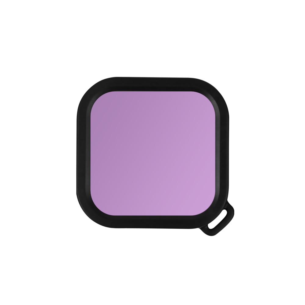 Waterproof Housings Lens Filters for Insta 360 ONE R Underwater Dive Case Accessories purple red