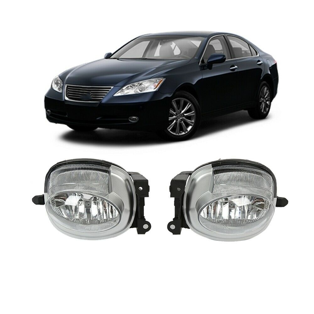 Car Front Driving Fog Light Lamp Clear For Lexus Es350 2007-2009 Boxed
