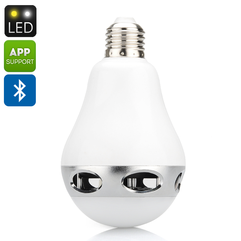 Bluetooth LED Lightbulb + Speaker