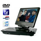 Portable DVD and Multimedia Player with 9 Inch Widescreen LCD