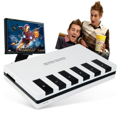 Mozart HDD Enclosure - Advanced DVR + Multimedia Player