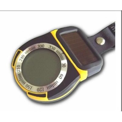 6in1 Solar powered Digital Compass+