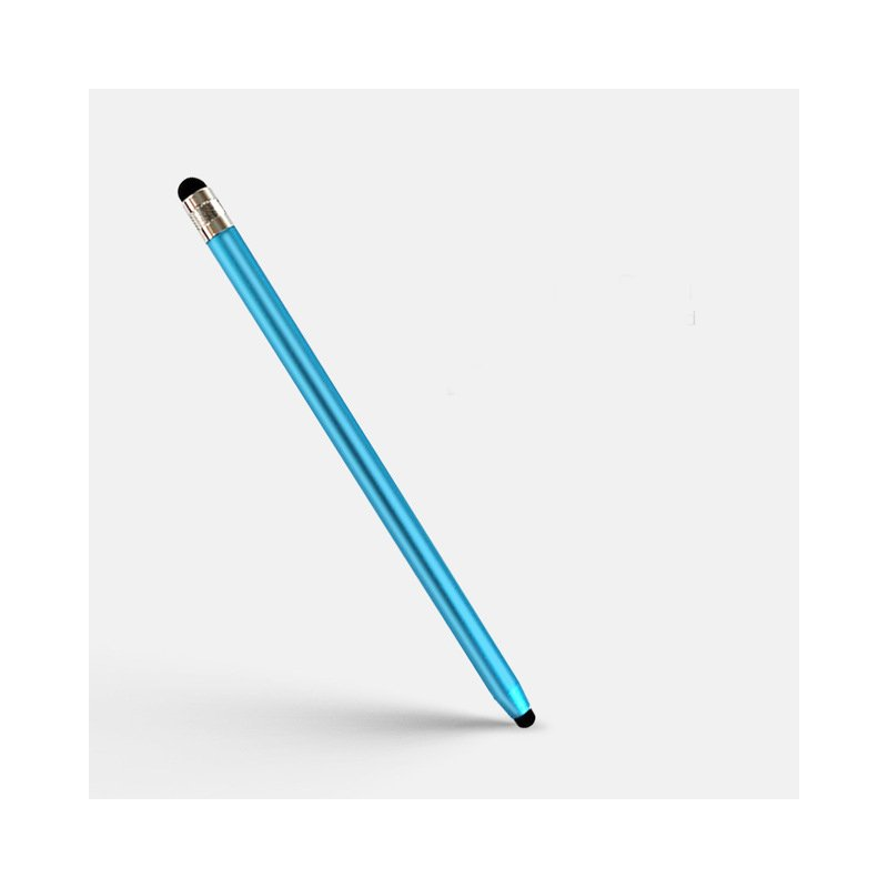 2 in 1 Stylus Pen Capacitive Screen Touch Pencil Drawing Pen for Tablet Android Smartphone blue