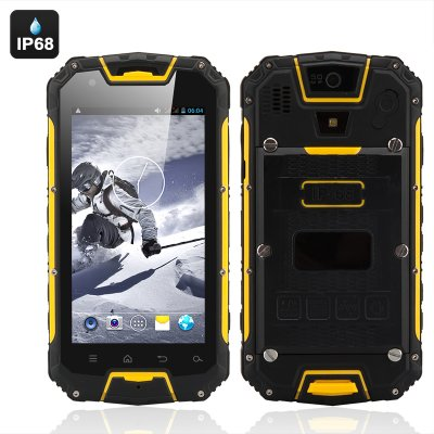 3G Rugged Smartphone 'Apex'  (Yellow)