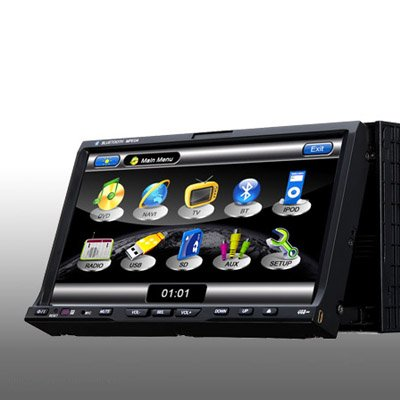 "7"" Double Din Car DVD"