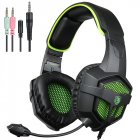EU Direct  2016 SADES SA 807 Multi Platform New Version Xbox One PS4 PC Gaming Headset Game Headphones with Microphone for Laptop Mac Tablet iPhone iPad iPod B