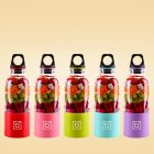 EU Direct  500ML  Rechargeable Juice Cup Portable Juice Blender   Mixer    Color Random