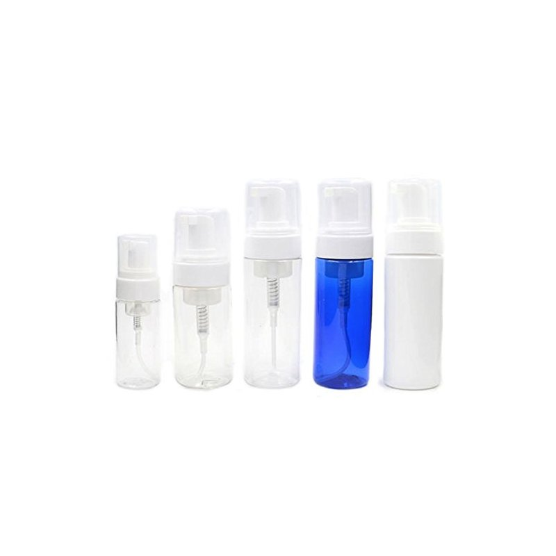 [EU Direct] 50ml 100ml 200ml Dispenser Soap Foam Foaming Pump Bottle Suds Plastic Travel Pack Quantity:1pcs