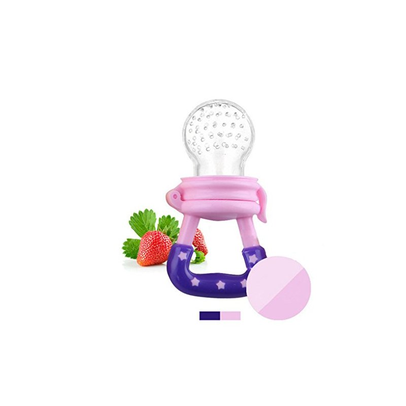 [EU Direct] Baby fruits and vegetables nibble on the pacifier pink M