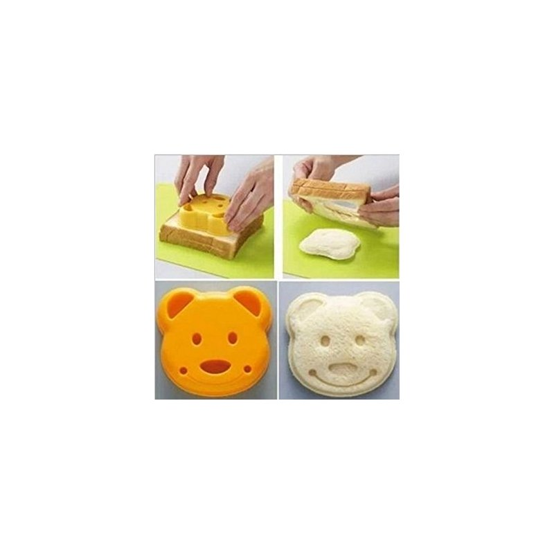 [EU Direct] Bear sandwich rice ball mould